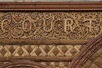 Photograph - Toronto Old City Hall - Sandstone Work - 2 by Hany J