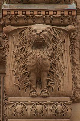 Photograph - Toronto Old City Hall - Sandstone Work - 5  by Hany J