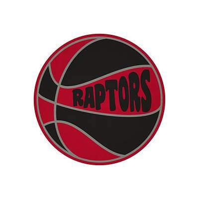Clip Art Photograph - Toronto Raptors Retro Shirt by Joe Hamilton