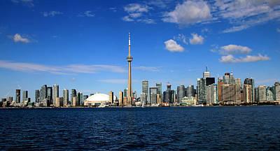 Toronto Skyline 26 Art Print by Andrew Fare
