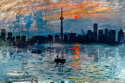 Photograph - Toronto Skyline 40 by Andrew Fare