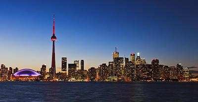 Photograph - Toronto Skyline by Alapati Gallery