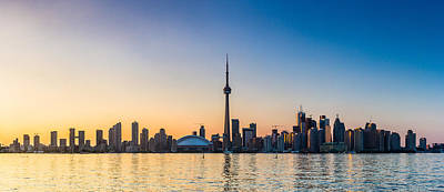Photograph - Toronto Skyline Panorama by Trevor Kennedy