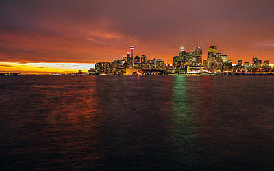 Photograph - Toronto Skyline by Thomas Richter