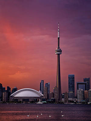 Photograph - Toronto Sunset by Ian Good