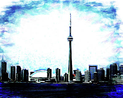 Digital Art - Toronto The Good by Leslie Montgomery