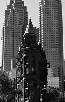 Photograph - Toronto The Old And New by Nadalyn Larsen