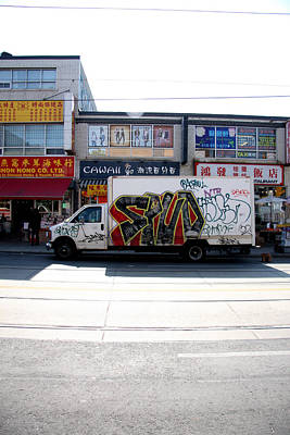 Spuds Photograph - Toronto Truck by Kreddible Trout