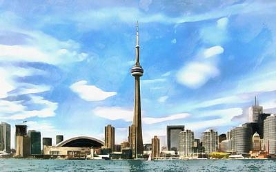 Toronto Waterfront - Canada Art Print