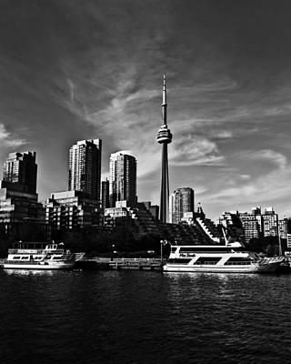 Photograph - Toronto West Skyline by Brian Carson
