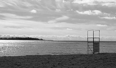 Photograph - Toronto Winter Beach by Valentino Visentini