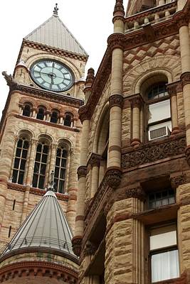 Photograph - Toronto's Old City Hall  by Hany J