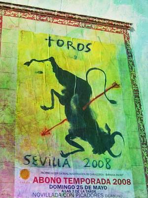 Photograph - Toros Sevilla by JAMART Photography