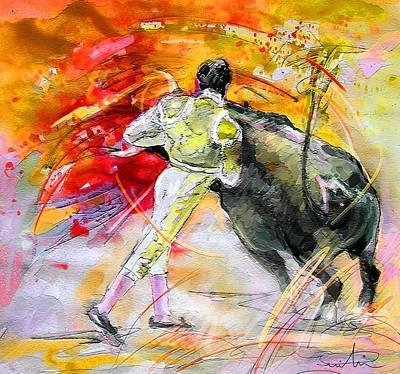 Painting - Toroscape 49 by Miki De Goodaboom