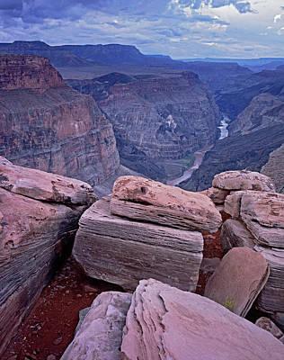 Photograph - Toroweap Rock Jumble by Tom Daniel