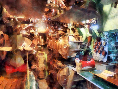 Photograph - Torpedo Room by Susan Savad