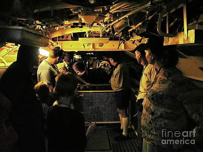 Photograph - Torpedo Room by Tim Richards