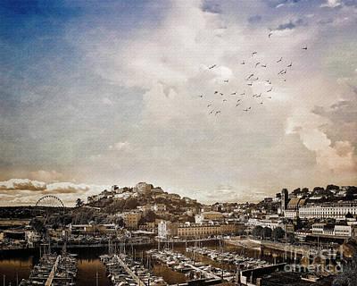 Digital Art - Torquay 2018 Ad by Edmund Nagele