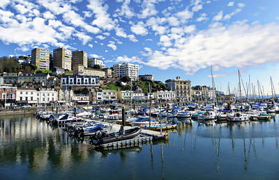 Photograph - Torquay Coastal View by Anthony Dezenzio