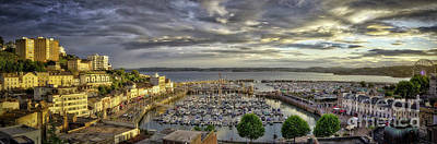 Photograph - Torquay Sunset by Edmund Nagele
