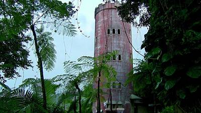 Torre De Observacion Yokahu  Art Print