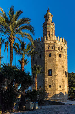 Torre Del Oro Sevilla Spain Art Print