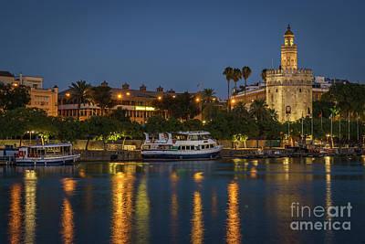 Photograph - Torre Del Oro Seville Spain by Pablo Avanzini