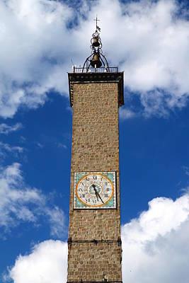 Watercolor Typographic Countries - Torre dellOrologio by Valentino Visentini