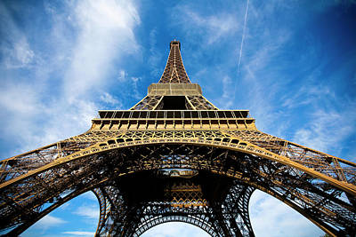 Part Of Photograph - Torre Eiffel - Tour Eiffel - Eiffel Tower by Ruy Barbosa Pinto