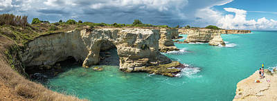Salento Photograph - Torre Sant'andrea - Puglia, Italy - Seascape Photography by Giuseppe Milo