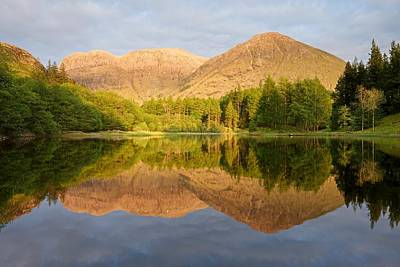 Photograph - Torren Lochan Reflections by Stephen Taylor
