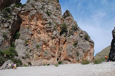 Photograph - Torrent De Pareis Gorge In Majorca by David Fowler