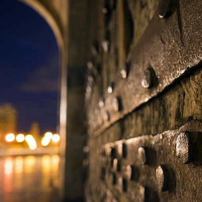 Photograph - Torres De Serranos Gate Details by For Ninety One Days