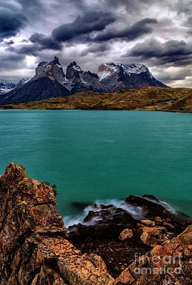 Photograph - Torres Del Paine 09 by Bernardo Galmarini