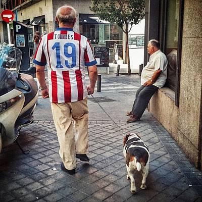 Football Wall Art - Photograph - Torres' Dog #street #urban #city #dog by Rafa Rivas