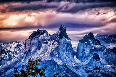 Photograph - Torres Peaks by Rick Bragan