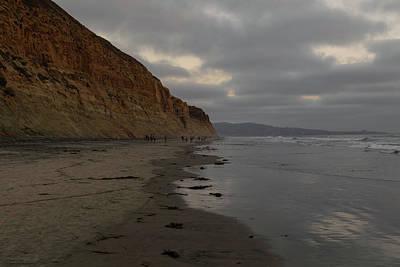 Photograph - Torrey Pines Beach  by Hany J