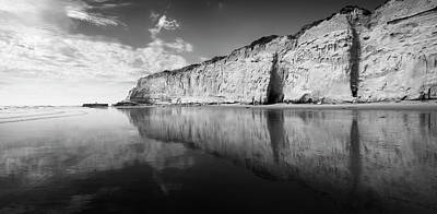 Photograph - Torrey Pines Cliffs And Clouds by William Dunigan
