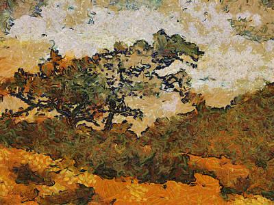 Torrey Pines Painting - Torrey Pines by Russ Harris