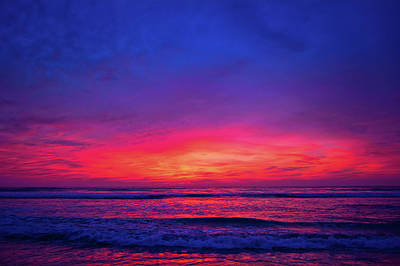 Photograph - Torrey Pines San Diego Sunset by Kyle Hanson