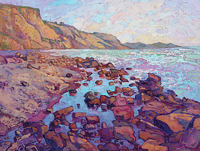 Painting - Torrey Rocks by Erin Hanson