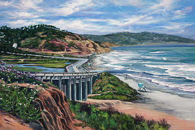 Painting - Torrey's Bridge by Lisa Reinhardt