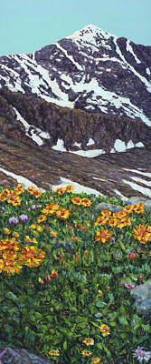 Painting - Torrey's Peak In Spring by James W Johnson