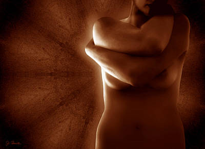 Photograph - Torso In Russet by Joe Bonita