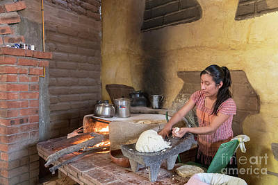 Photograph - Tortilla Maker by Jim West