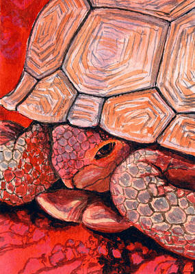 Tortoise Art Print by Bonnie Kelso