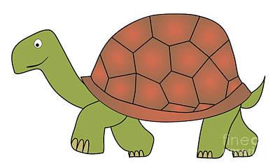 Tortoise Digital Art - Tortoise by Michal Boubin