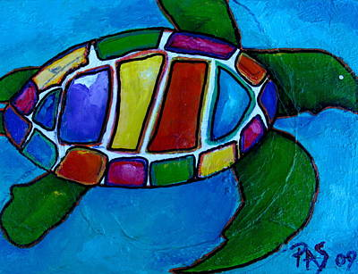 Painting - Tortuga by Patti Schermerhorn