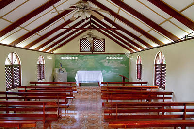 Photograph - Tortuguero Church 2 by Arthur Dodd