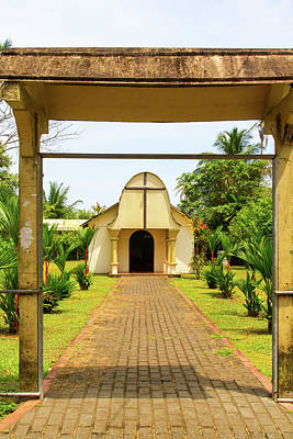 Photograph - Tortuguero Church by Arthur Dodd